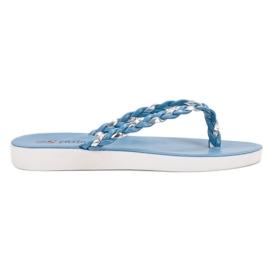 Seastar Chanclas tejidas azules