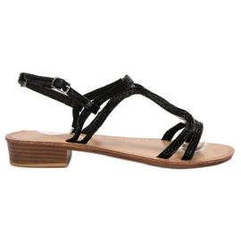 SHELOVET Sandalias en tacones negro