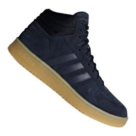 Zapatillas de baloncesto adidas Hoops 2.0 Mid M F34798 azul marino marina