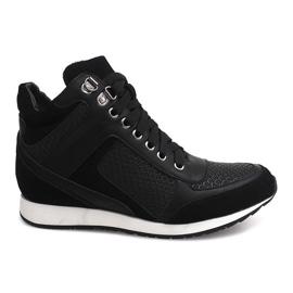 Zapatillas Cuña 58804 Negro