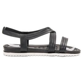 SHELOVET Sandalias de goma deslizantes negro