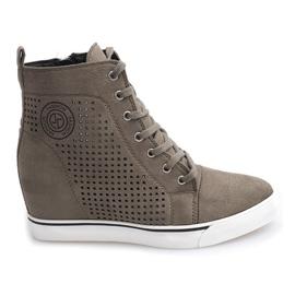 Zapatillas caladas XW36236 Olive