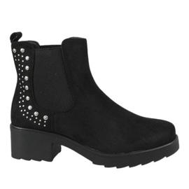 Kayla Shoes Tacones altos con aislamiento negro 88048