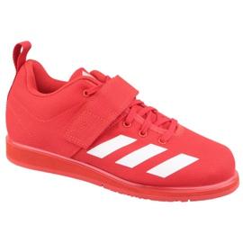 Zapatillas Adidas Powerlift 4 W BC0346 rojo