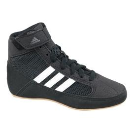 Negro Adidas Havoc K Jr AQ3327 zapatos