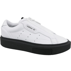 Zapatillas Adidas Sleek Super Zip W EF1899 blanco