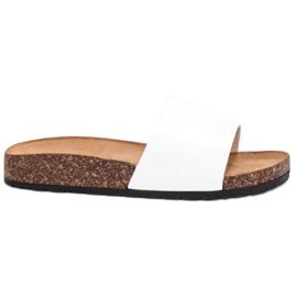 Bello Star blanco Zapatillas Clásicas Blancas