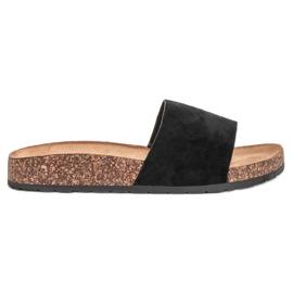 Bello Star negro Zapatillas clásicas negras