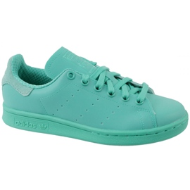 Adidas Stan Smith Adicolor Shoes W S80250 azul