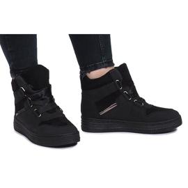 Negro Zapatillas negras de paule