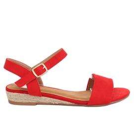 Rojo Sandalias alpargatas rojas 9R73 rojas