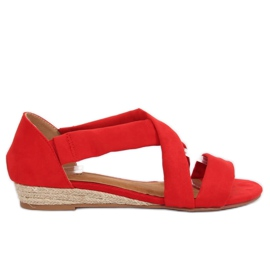 Rojo Sandalias alpargatas rojas 9R72 rojas