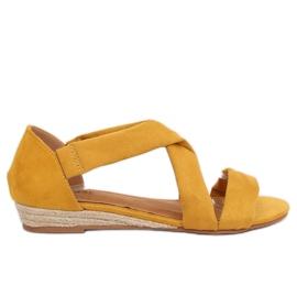 Amarillo Sandalias alpargatas amarillas 9R72 amarillas
