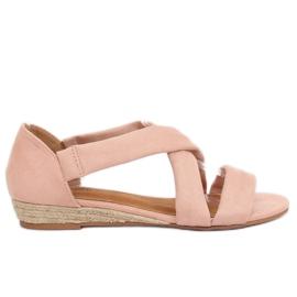 Sandalias alpargatas rosa 9R72 rosa