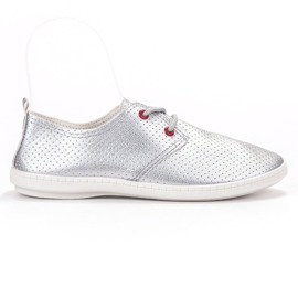 SHELOVET gris Zapatillas de plata