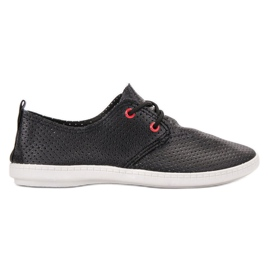 SHELOVET negro Zapatillas negras