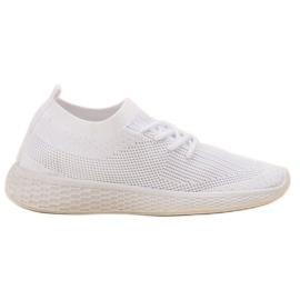 SHELOVET blanco Zapatillas deportivas sin cordones