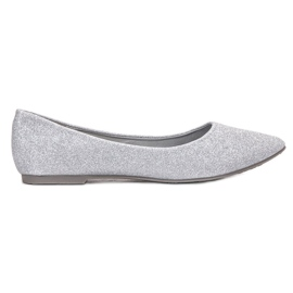 Brocade Bailarina VINCEZA gris