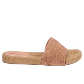 Zapatillas rosa para mujer JFF-V182 Rosa