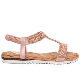Sandalias de mujer rosa HT-67 Rosa