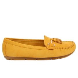 Mocasines amarillos L7183 Amarillo