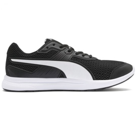 Zapatos Puma Escaper Core M 369985 01 negro y blanco