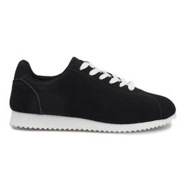 Negro Zapatillas deportivas negras patricia