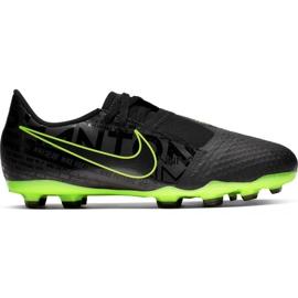 Zapatillas de fútbol Nike Phantom Venom Academy Fg Jr AO0362 007 negro - verde