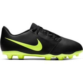 Zapatillas de fútbol Nike Phantom Venom Club Fg Jr AO0396 007 negras