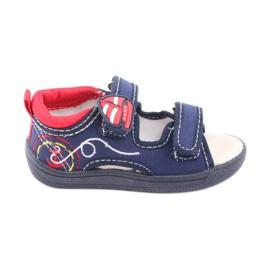 American Club Sandalias americanas zapatos infantiles plantilla piel.