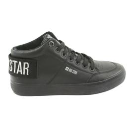 Negro Zapatillas altas negras Big Star 274351