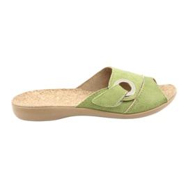 Befado zapatos de mujer pu 265D008 verde