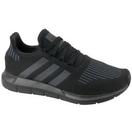 Negro Zapatillas Adidas Swift Run Jr CM7919