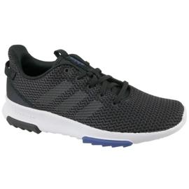 Negro Adidas Cloudfoam Racer Tr K Jr DB1300 zapatos
