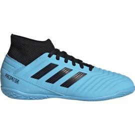 Botas de fútbol adidas Predator 19.3 In Jr G25807 azul
