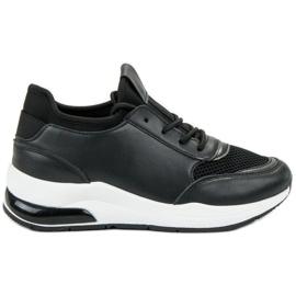 Ideal Shoes negro Calzado deportivo de mujer