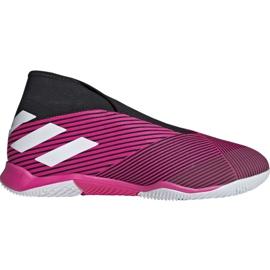 Botas de fútbol adidas Nemeziz 19.3 In M EF0393 rosa
