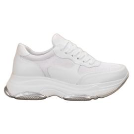 Ideal Shoes blanco Zapatillas blancas claras