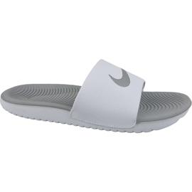 Blanco Zapatillas Nike Kawa Slide 834588-100