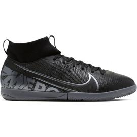 Botas de fútbol Nike Mercurial Superfly 7 Academy Ic Jr AT8135 001 negro