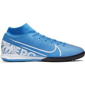 Botas de fútbol Nike Mercurial Superfly 7 Academy Ic M AT7975 414 azul