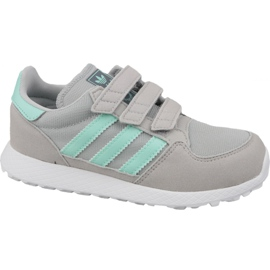 Zapatillas Adidas Originals Forest Grove Cf Jr CG6709 gris