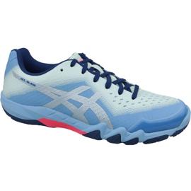 Zapatillas de squash Asics Gel-Blade 6 W R753N-400 azul azul