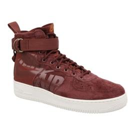 Rojo Nike Air Force 1 Sf Mid M 917753-202