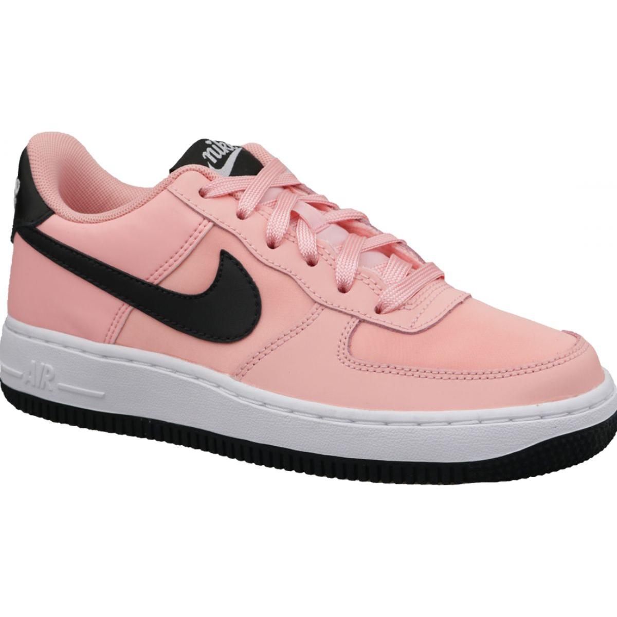 Rosa Nike Air Force 1 VDay Gs Zapatos W BQ6980 600