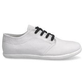 Negro Sneakers de hombre 5307 Blanco