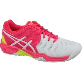 Zapatillas de tenis Asics Gel-Resolution 7 Gs Jr C700Y-116 rosa