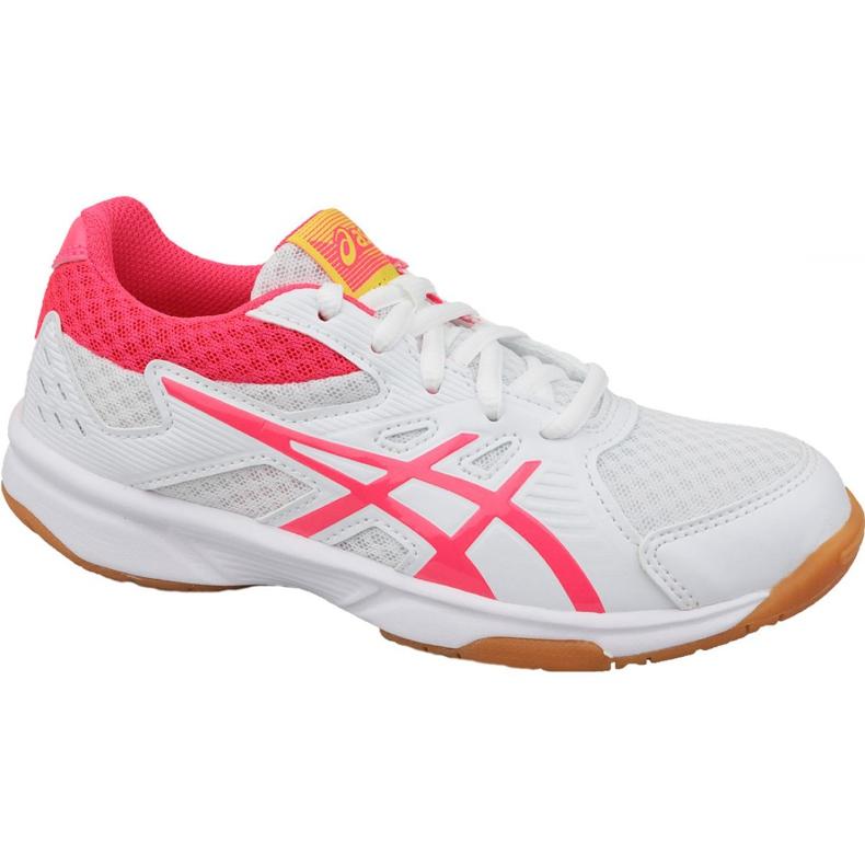 Zapatillas de voleibol Asics Upcourt 3 Gs Jr 1074A005-104 blanco blanco