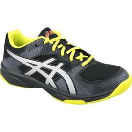 Zapatillas de voleibol Asics Gel-Tactic Gs Jr 1074A014-001 negro negro