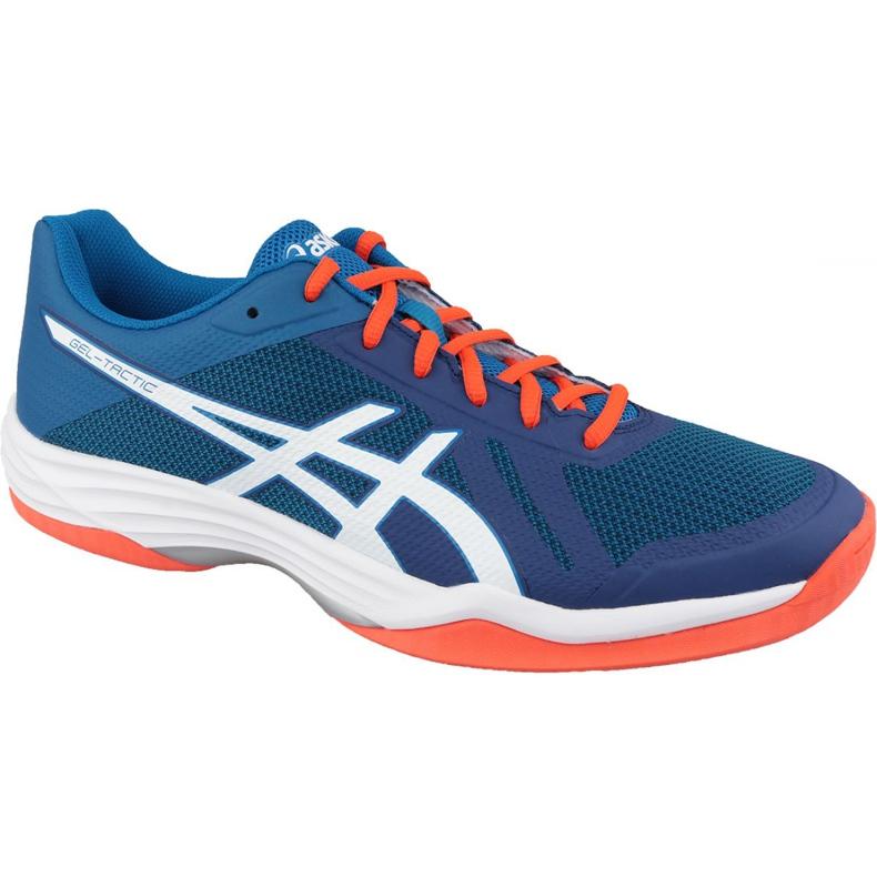 Zapatillas de voleibol Asics Gel-Tactic M B702N-401 azul marina
